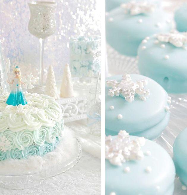 Frozen / Eiskönigin Party - Elsa Geburtstagstorte
