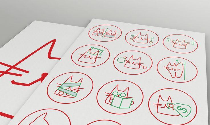 Ознакомьтесь с моим проектом в @Behance: «Infographics - CATS»…