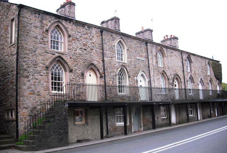 terrace row, whalley, lancashire