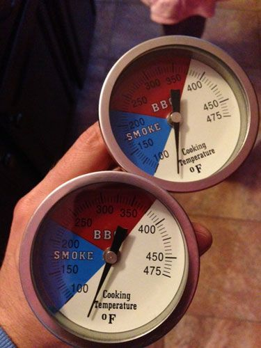 cheap thermometers for an ugly drum smoker and instructions. http://www.grilling24x7.com/UDS3.shtml