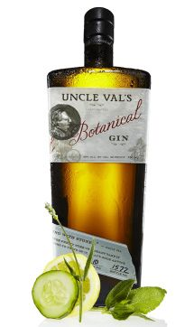Uncle Val's Gin by 35 Maple Street http://www.35maplestreet.com/spirits/uncle-vals-botanical-gin/