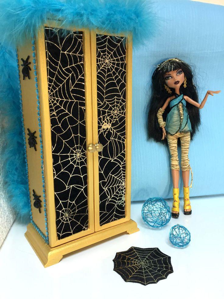 pinkrosemh Kleiderschrank Möbel für Barbie Puppenstube Monster Puppe 30cm High in Spielzeug, Puppen & Zubehör, Mode-, Spielpuppen & Zubehör | eBay