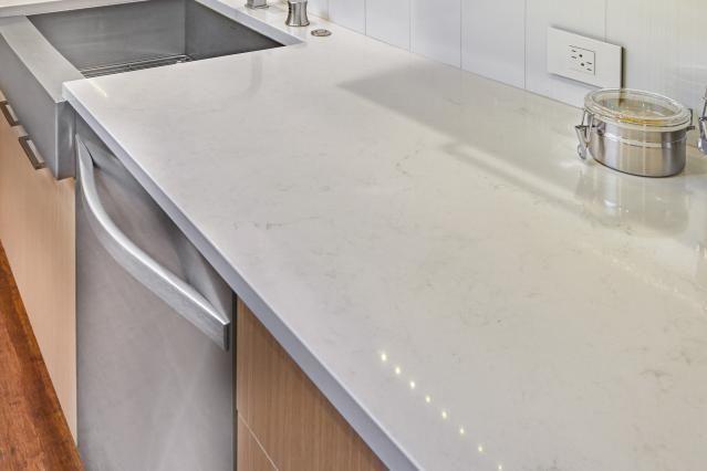 6 Maintenence-Friendly Marble Alternatives: Quartz - Caesarstone