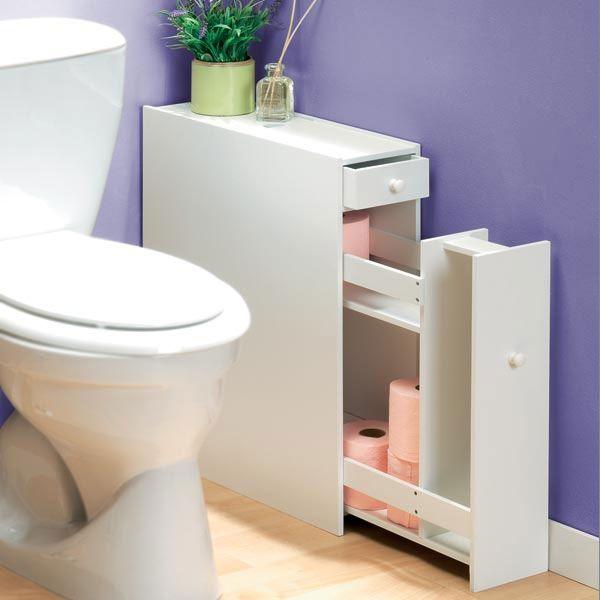 Meuble organiseur toilette - TEMPS L