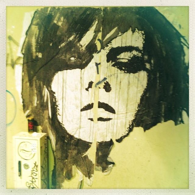 Stencil art in París