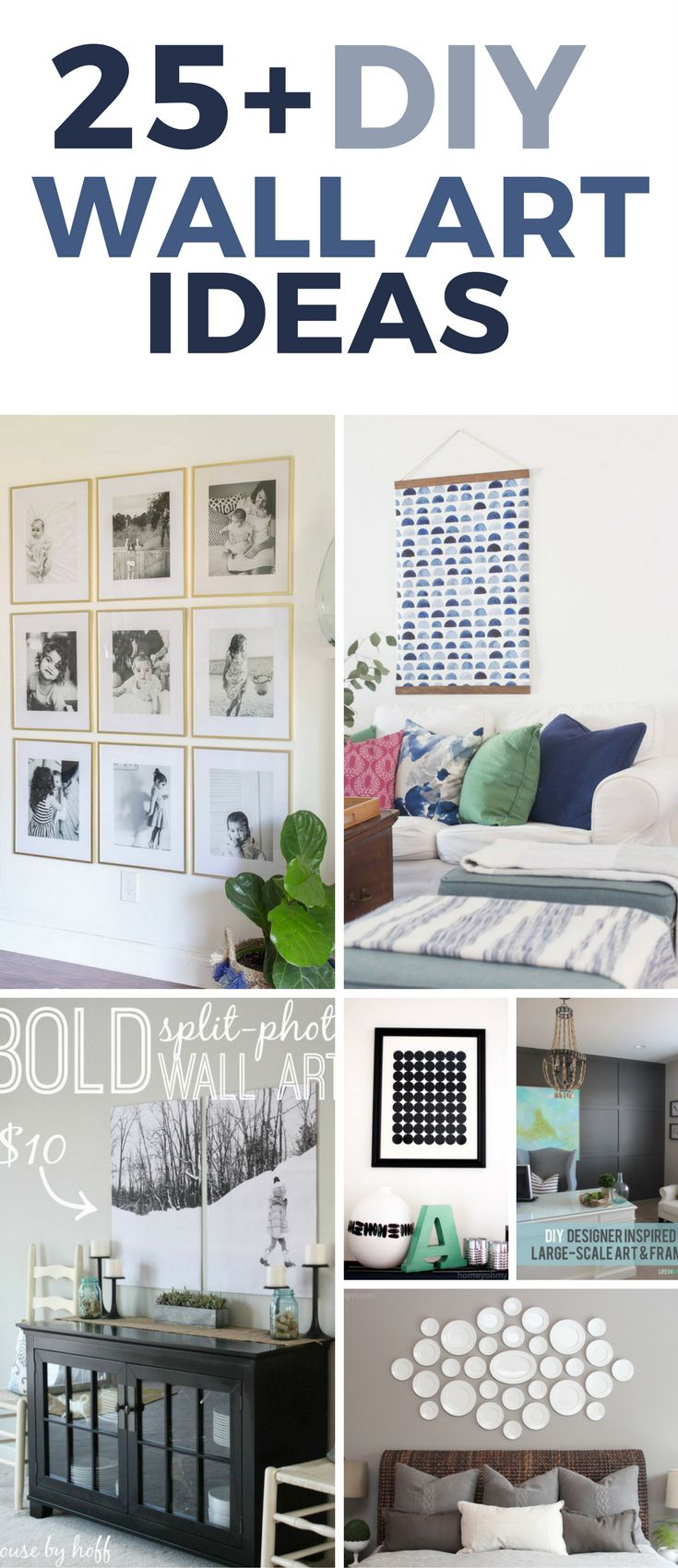 Over 25 Gorgeous DIY Wall Art Projects That Will Inspire You