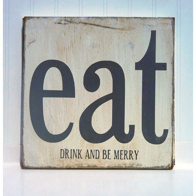 eat drink and be merry wood sign for the home pinterest With kitchen cabinets lowes with eat drink and be merry wall art