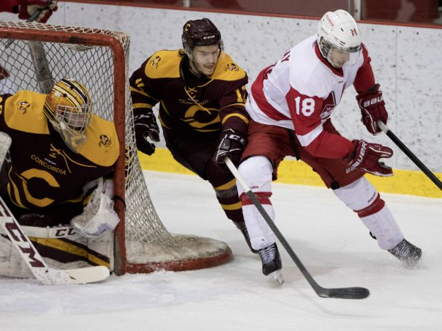 Stu Cowan: Concordia upsets McGill in Game 1 of university hockey final