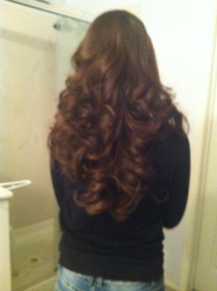 Sock Bun Curls Hair Pinterest Buns Bun Curls And