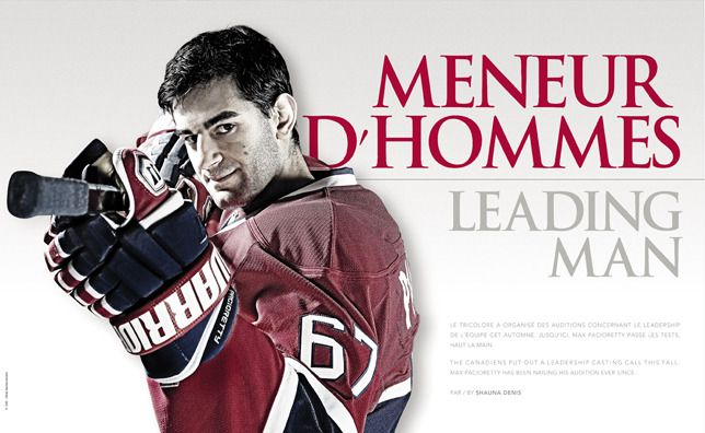 Mag 29.3 - Max Pacioretty - Montréal Canadiens - CANADIENS magazine