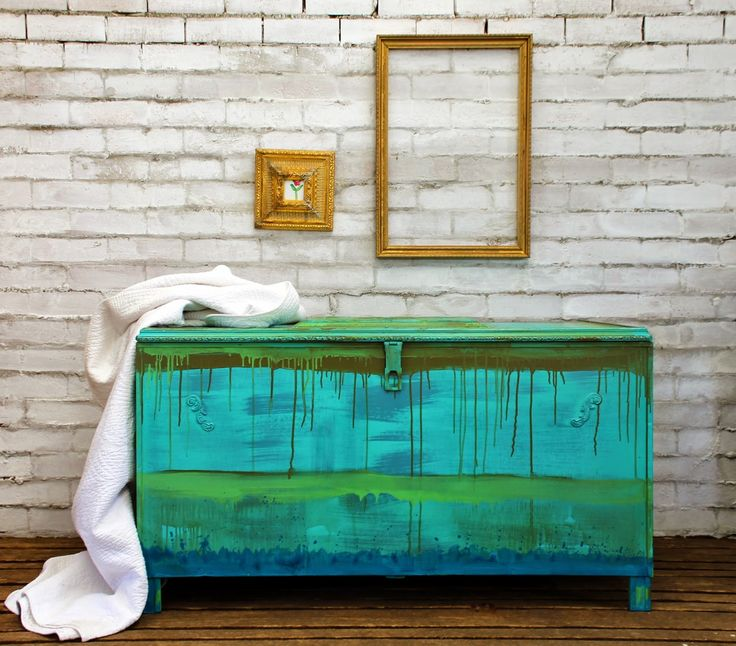 Artist Beau Ford Uses Chalk Paint® Decorative Paint By Annie Sloan To  Create A Painterly