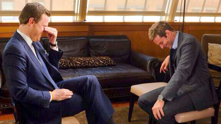 Bradley Cooper gets the giggles with Willie Geist ahead of Golden Globes