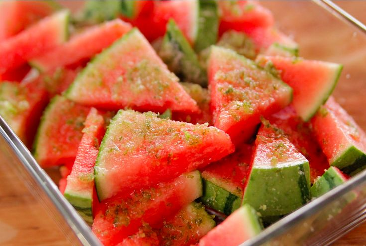 Eat Yourself Drunk With Tequila-Soaked Watermelon Wedges | Betches Love This | Bloglovin'