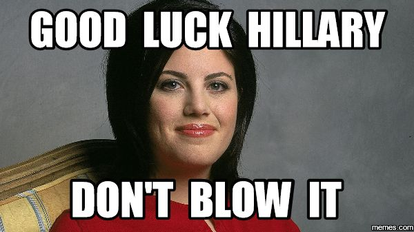 Monica's Advice to Hillary