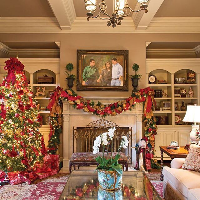 Christmas Interiors 3109 best christmas houses images on pinterest | christmas houses