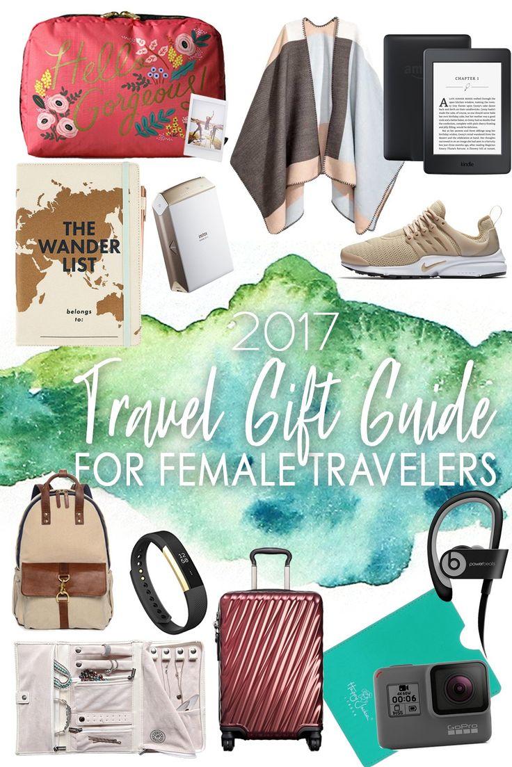2017 Travel Gift Guide for Female Travelers