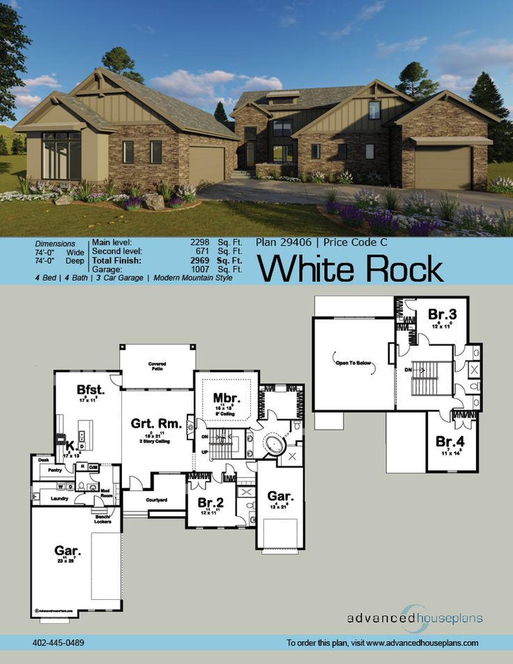 1 1/2 Story House Plans Images On Pinterest