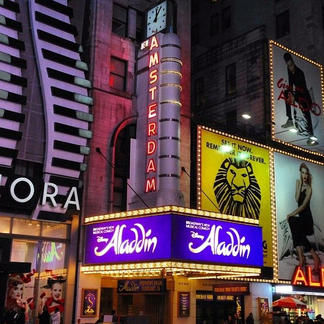Aladdin the Musical! I loved the music in this movie.
