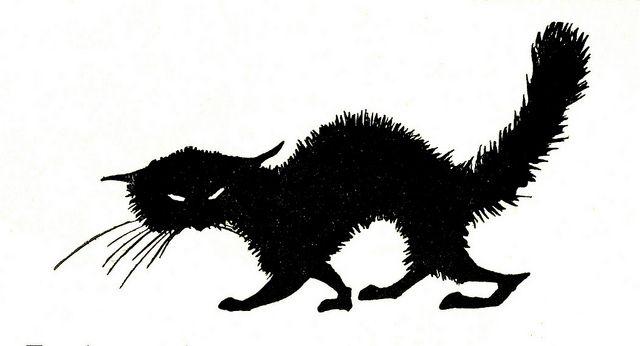 Nora schnitzler, ill  gemene kat pg 45 silh by janwillemsen, via Flickr