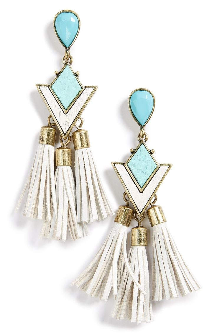 Mod Style Meets Contemporary Design With This Pair Of Mintgreen Drop  Earrings Covered In
