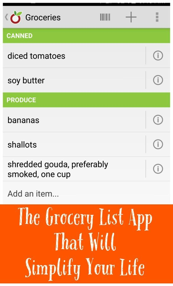 Do you use a grocery or other shopping list app? Why it might just be the best thing ever. | Fit Bottomed Eats