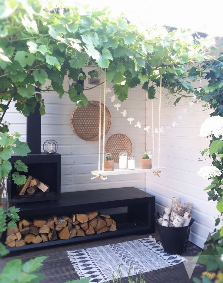 Tuin plantenschommel Lisanne van de Klift styling