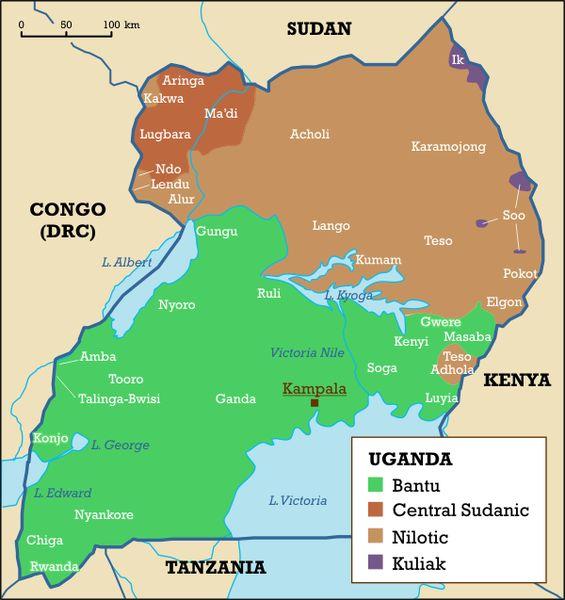 Languages of Uganda