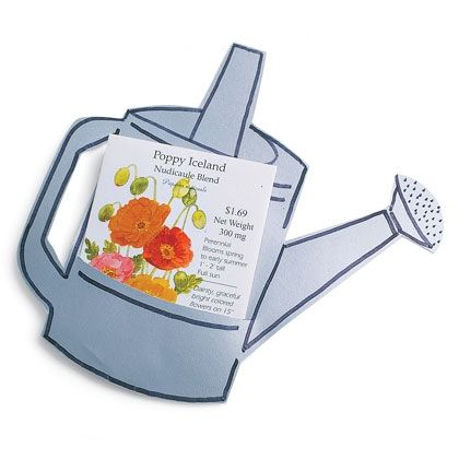 Watering Can Greeting Card    http://spoonful.com/sites/default/files/0305_wateringcan.pdf