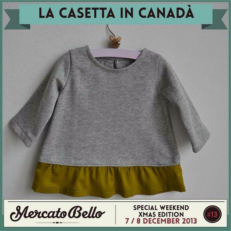 • La Casetta in Canadà   Stoffe liberty francesi e giapponesi per piccoli abiti realizzati a mano.  Sabato 7 dicembre al Mercato Bello.  http://la-casettaincanada.blogspot.it/