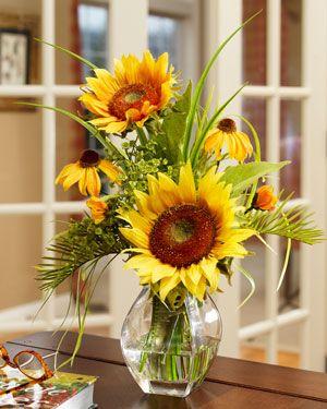 Silk Sunflower Arrangement