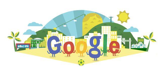 Google też się przygotowało na  Mistrzostwa Świata w Piłce Nożnej 2014 #GoogleDoodles  jak myślicie kto zdobędzie #puchar?