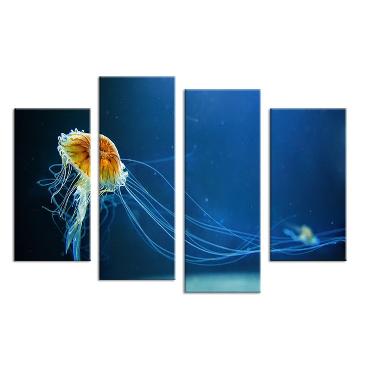 1000 idee n over kwallen decoraties op pinterest oceaan feest onderwater partij en oceaan - Associatie van kleur e geen schilderij ...