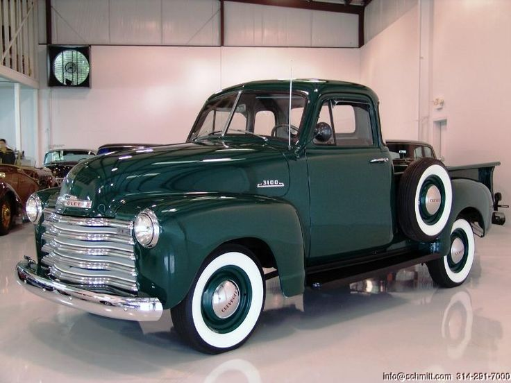 Daniel schmitt co classic car gallery presents 1953 for 1953 chevy 5 window pickup