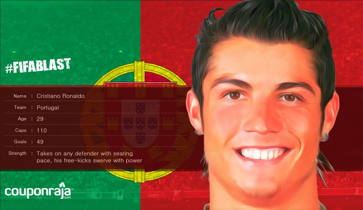 Christiano Ronaldo from #Portugal is a champ in taking on any defender with his searing pace.