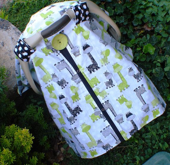 Hey, I found this really awesome Etsy listing at https://www.etsy.com/listing/161179510/car-seat-canopy-giraffee