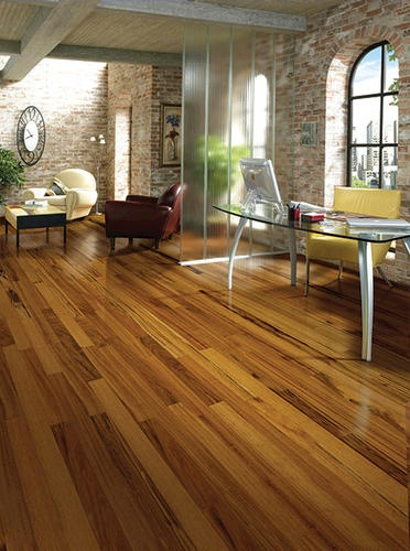 Cape Town Tigerwood Laminate Flooring   Leaning Toward Picking This One    On Sale At Menards!