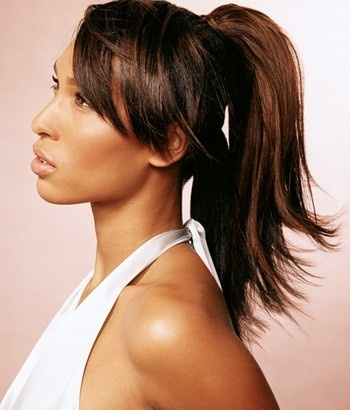 Layers  work well in just about every hairstyle and with