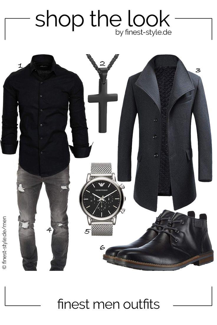 Top modernes MännerOutfit mit Klammotten von Emporio Armani, Rieker, PROSTEEL, … – finest-style.de-Outfits