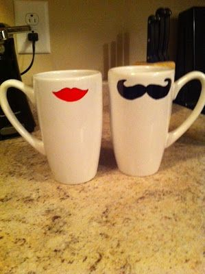 The Brandon and Amanda Story: DIY Coffee Mugs/Surprise Gifts!