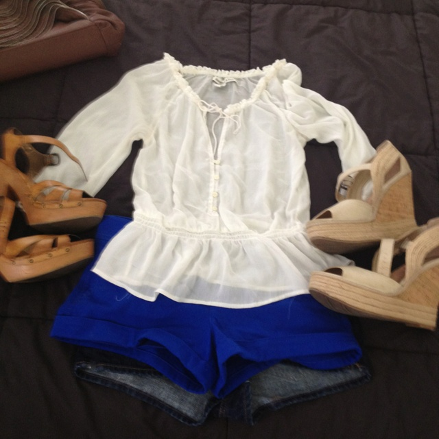 Graduation party outfit. Put together by yours truly