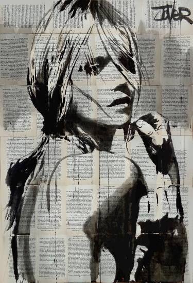 "Saatchi Art Artist LOUI JOVER; Drawing, ""to be"" #art"