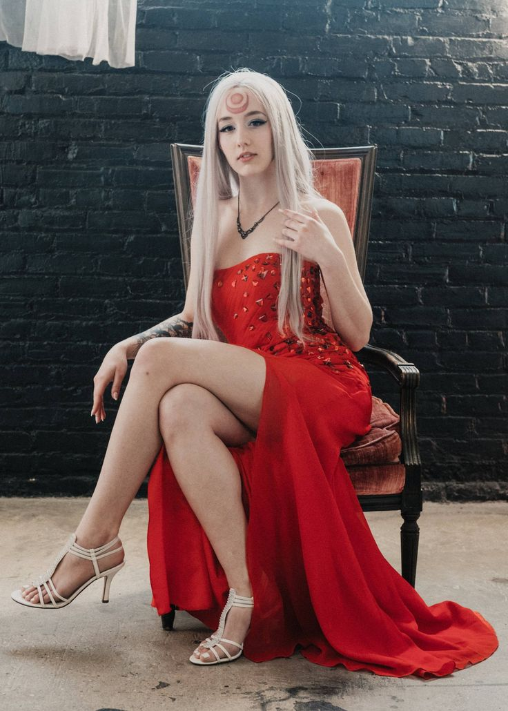 Formal Blood Moon Diana.  Photograph by MK Photo.