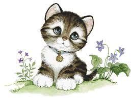 Resultado de imagen para perros y gatos tiernos animados