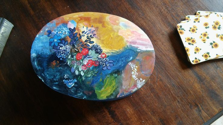 Inspired from a painting of Odilon Redon