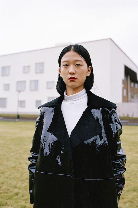 Anne Törnroos/ Styling, Fashion editorial, Ulap Magazine, model, film photography, leather, photo: Andrei Kipahti