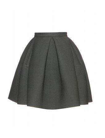 kenzo - neoprene skirt