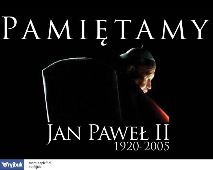 jan pawel 2 | odpowiedz na ryja