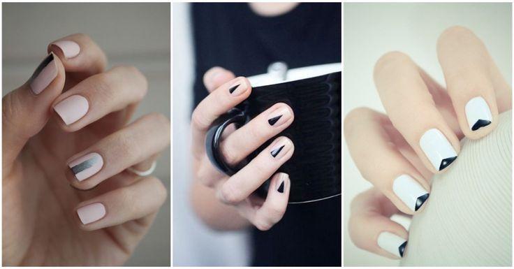 minimalistische nagels