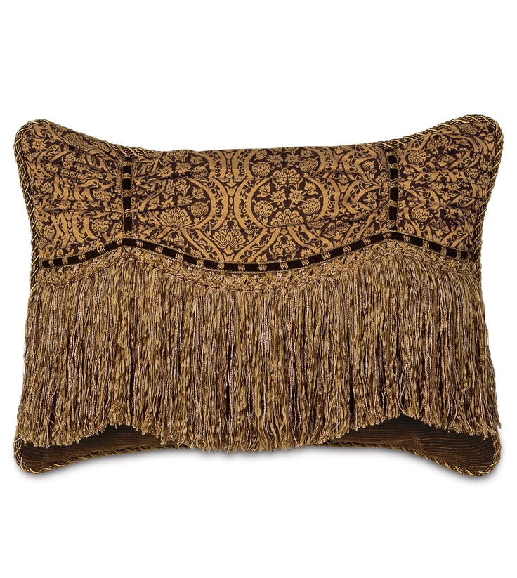 Throw Pillow With Tassels : 58 best images about Pillows and throw blankets on Pinterest Tassels, Old world and Bedding sets
