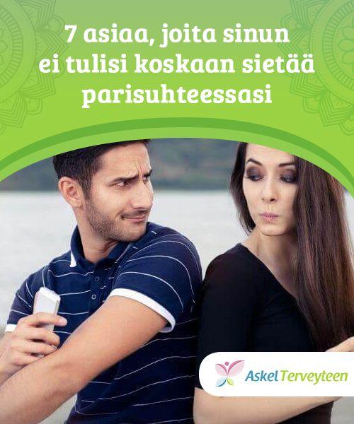 7 asiaa, joita sinun ei tulisi koskaan sietää #parisuhteessasi   Opi tunnistamaan myrkylliset#käytösmallit suhteen alusta lähtien äläkä jätä niitä #huomiotta, sillä niistä voi tulla jatkuvia ja ne voivat tuhota sinut.  #Seksijaparisuhde